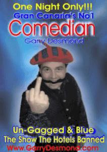 Garry Desmond Blue Show Old