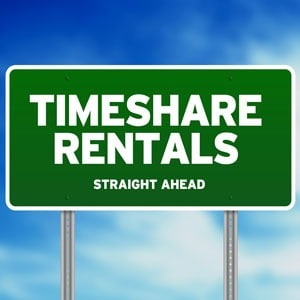 Timeshare-sign